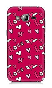 Samsung Galaxy On7 3Dimensional High Quality Back cover by 7C