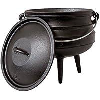 Big de BBQ potjie | südafr Hierro Fundido Olla de de Americanos | alternativa al de Dutch Oven | diferentes tamaños a elegir