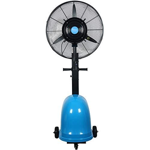 DS- Bodenventilator Misting Oscillating Fan, 26 Zoll / 30 Zoll Outdoor-Hochleistungs-Befeuchtungs- und Kühlungs-Industriesprühventilator, geeignet für Outdoor, Fabrik, Einkaufszentrum, in 2 Größen erh