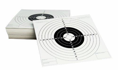 Gamo 200111 Cibles en papier Blanc