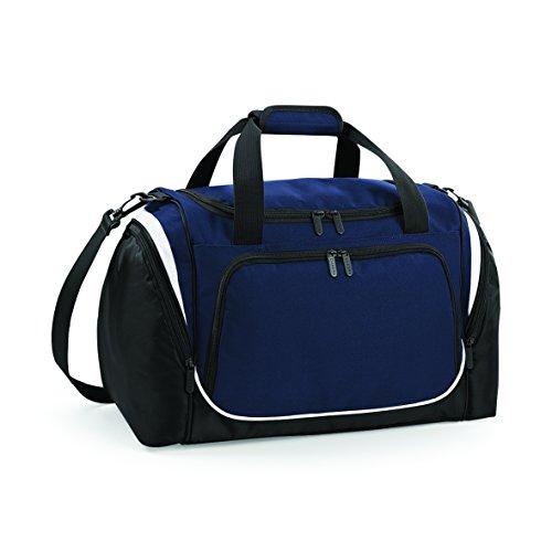 Quadra, tracolla regolabile Locker Sports Pro Team-Borsa per sport/palestra French Navy/ Black/ White