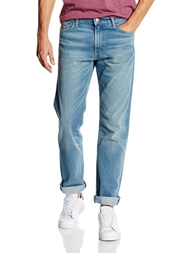 Levi's Herren Jeans 504 Regular Straight Fit Blau (SALT POINT RIDGE 534)