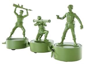 Toy Story - V0764 - Mega Action - Figurine Deluxe - Paquet de Trois - Soldats Action Combat (Soldat ca. 8cm)