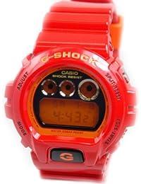Casio - Reloj de pulsera mujer, resina, color rojo