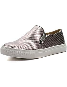 ZOEE Step2wo Zapatos para Niñas in Metálico