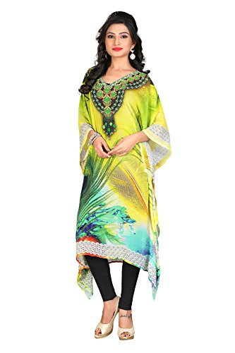Reyansh International Women's Poly Georgette kaftan