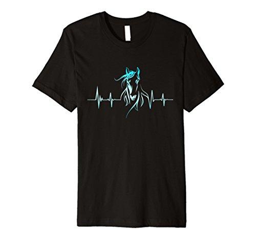 Horse Lovers - Pferde, Herzschlag Pferd T-Shirt
