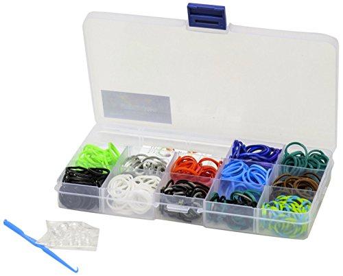 Preisvergleich Produktbild Glow2B Spielwaren 5620081 - Loom's  Box for Boys, 360 Stück