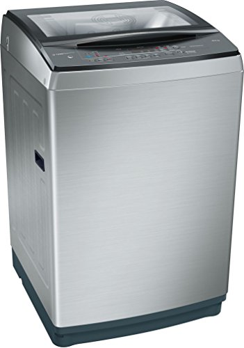Bosch 10kg Fully Automatic Top Loading Washing Machine (WOA106X0IN, Inox)