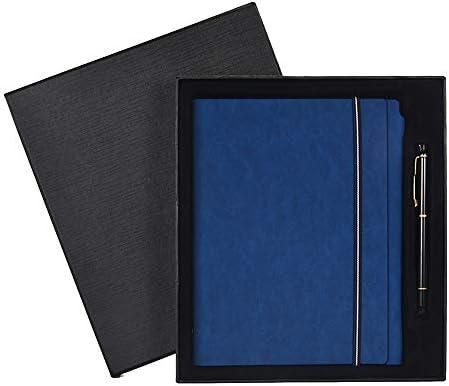 looper carnet cadeau cadeau cadeau d'affaires coffret carnet convenable pour écrire, dessiner croquis journal journal de voyage carnet 233  17 cm de Bleu  (boîte - cadeau),a5 - bleu (boîte - cadeau, pen) B07H5HVDJQ | Une Forte Résistance à La Chaleur f37ee7