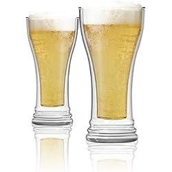 Vaso de cerveza térmico - Set de 2 vasos - 400ml