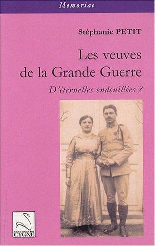 Les veuves de la Grande Guerre : D'éternelles endeuillées ?
