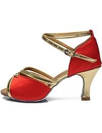 f9bf551a408cd HIPPOSEUS Chaussure de Danse Latine pour Femmes