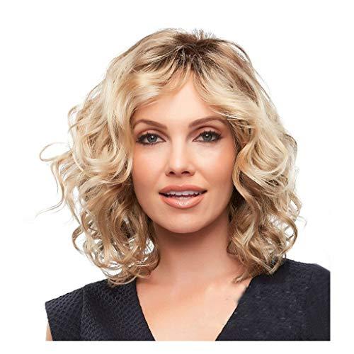 Perruque Dame d'or, Cheveux Dégradés Synthétiques De Cheveux Dégradés Résistant Aux Températures Élevées Convenant À La Fête