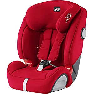 Britax Römer EVOLVA 1-2-3 SL SICT Group 1-2-3 (9-36kg) Car Seat - Fire Red   9