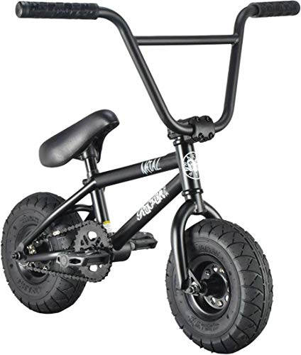 Rocker Mini BMX I-ROK+ Fantic26 Sticker & Armband (Metal (Schwarz))