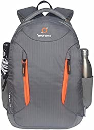 Murano Ascent 29 LTR Laptop Backpack for 15.6 inch Laptop and Nylon Water Resistance Backpack- Grey