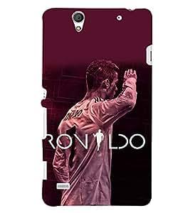 PRINTSHOPPII RONALDO FANS Back Case Cover for Sony Xperia C4 Dual E5333 E5343 E5363::Sony Xperia C4 E5303 E5306 E5353