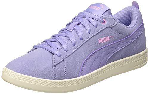 Puma Damen Smash WNS v2 SD Sneaker, Violett (Sweet Lavender-Pale Pink-Whisper White 13), 40 EU