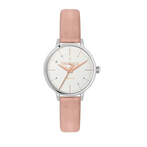 TRUSSARDI Reloj Analógico para Mujer de Cuarzo con Correa en Cuero R2451126505