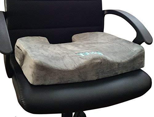 BAEL Wellness Sitzkissen-für Schmerzen im unteren Rücken, Steißbein und Ischias, Schmerzen, orthopädische Klasse Firma BH, behebt Haltungen natürlich. Perfekte Größe für jeden Sessel und Auto. -
