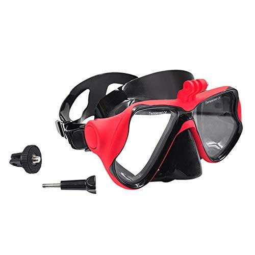 sdfghaWSEfdfghsfgh wasserdichte Tauchmaske Schnorchel Schwimmen Googles Brille Gesichtsmaske für DJI OSMO Action / Insta360 ONE/ONE X Kamera