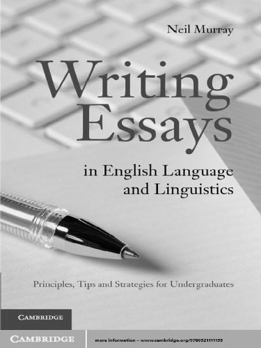 College Essay Paper Writing Essays In English Language And Linguistics By Murray Neil Essays On Health Care Reform also Thesis Statement Persuasive Essay Writing Essays In English Language And Linguistics Ebook Neil  Narrative Essay Thesis