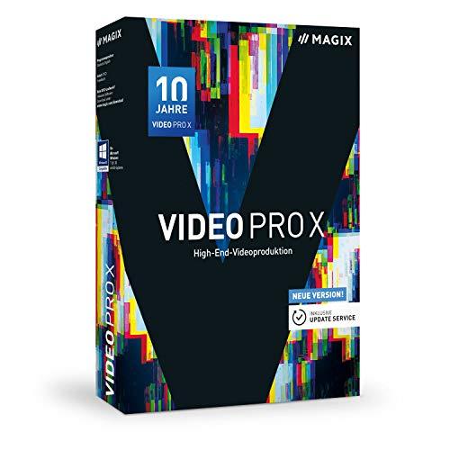 MAGIX Video Pro X - Jubiläumsversion 10 - Preisgekrönte Software für professionelle Videobearbeitung