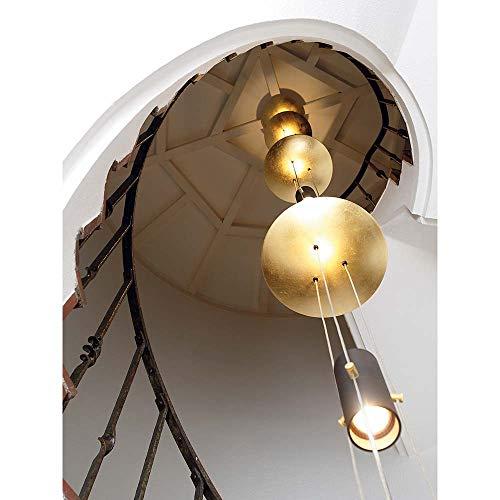 Oligo Hängelampe Element für Treppenhaus Bel-Air 2,5m Blattgold