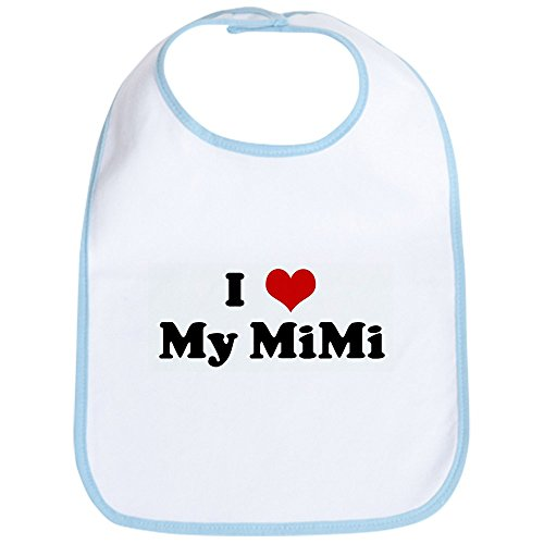 CafePress - I Love My Mimi - Cute Cloth Baby Bib, Toddler Bib