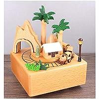 Krone Trojaner Wohnaccessoires & Deko QFSLY Spieluhr Karussell Aus Holz Holzspieluhr Spieluhr Ornamente Geburtstagsgeschenk