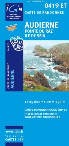 Audierne/Pointe Du Raz/Ile De Sein GPS: Ign.0419et