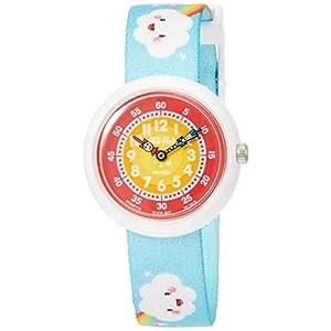 FlikFlak Mädchen Analog Quarz Uhr mit Stoff Armband FBNP115