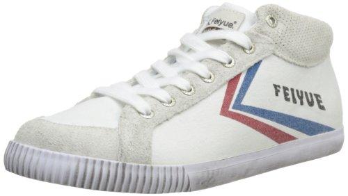 FeiyueDelta Mid Origine 1920 - Sneaker unisex adulto , Bianco (Blanc (641)), 44