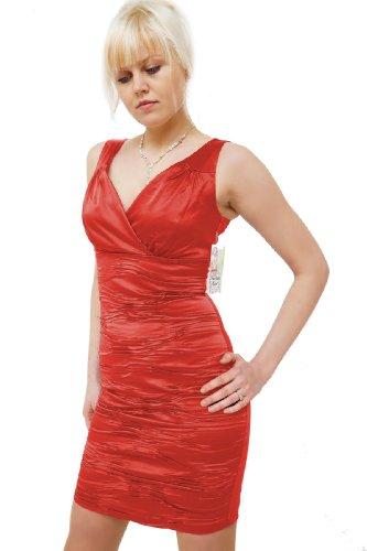 Young-Fashion -  Vestito  - Sera  - Donna Saumon d'Orange