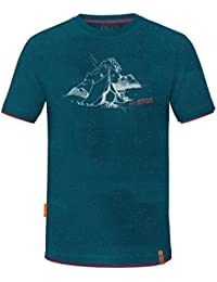 ABK Refuge Tee Camiseta de Manga Corta, Hombre, Azul (Petrol Marine), XL