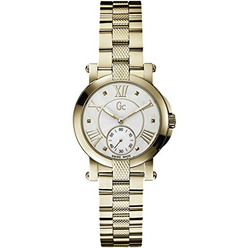 GUESS COLLECTION GC DEMOISELLE X50002L1S LADIES 32MM SAPPHIRE GLASS WATCH