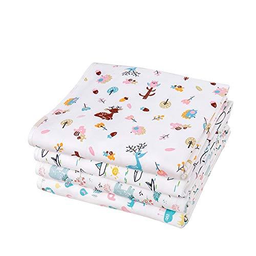 Almohadilla de pañal de repuesto portátil, Protector de colchón a prueba de fugas transpirable Almohadilla de reemplazo de bebé, Seguridad Cómoda Higiene respetuosa con la piel Prevenir alergias