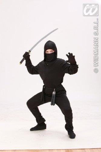 KINDERKOSTÜM - NINJA - Größe 140 (Jungen Baby Ninja Kostüm)