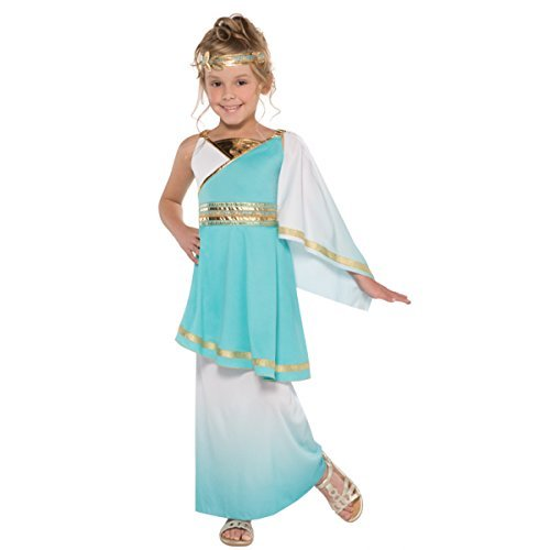 Venus Roman Goddess Girls Fancy Dress Grecian Toga Greek Childrens Child Costume (Small Ages 6 -8)