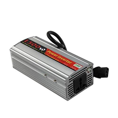 Preisvergleich Produktbild WYJD Spannungswandler ®1500 Watt Wechselrichter DC 48 V 60 V zu 110 V 220 V AC Konverter mit Outlet