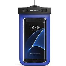 """MoKo WPC-GS-140823F-BLU-FA 5.7"""" Funda de protección Azul - fundas para teléfonos móviles (Funda de protección, Universal, iPhone 5, 5S, 4, 4S, 3G, 3GS / Samsung Galaxy S6 S5 S4 S4 Active, S4 Mini, S3, S3 Mini, S2, Note 4..., 14,5 cm (5.7""""), Azul)"""