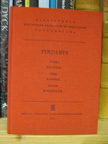 Carmina cum fragmentis I. Epinicia