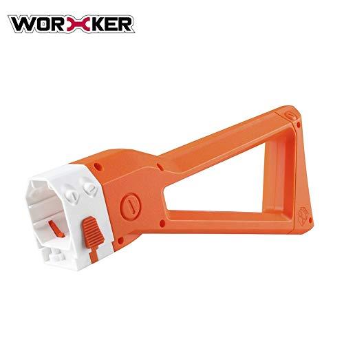 Preisvergleich Produktbild WORKER Spielzeug Sniper Mod Schulter Stock Ersatz Spielzeugpistole Reitstock für Nerf N-Strike Elite Für AK Einfache Installation