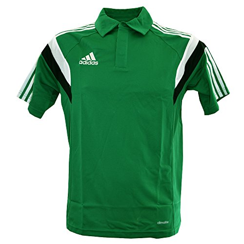 Adidas Performance-Polo LIC Verde d85428, unisex, verde, M