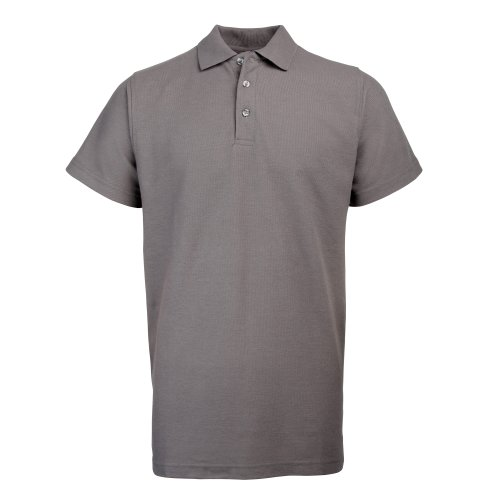 RTY Workwear Herren Polo-Shirt S bis 10XL (4XLarge) (Grau)