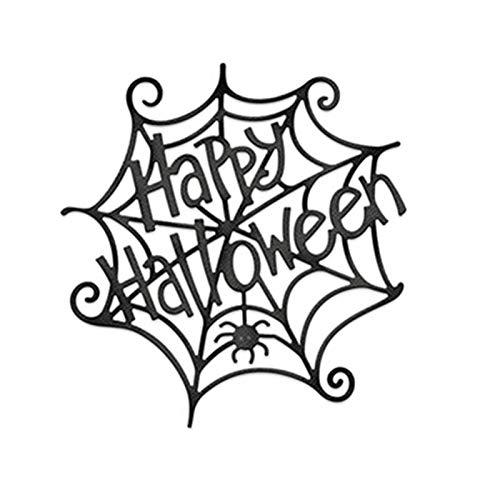 Pynxn - Halloween Hohle Metallschneideisen Scrapbooking Stirbt Metallschneidwerkzeuge Schnitt für DIY Grußkarte Dekorationen [7 * 7.4] -