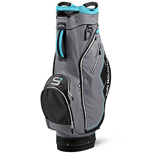 Golf Trolleybag | Sun Mountain 2017Damen Serie 1Damen Cart Trolley Golf Bag Grau/bahama/weiß