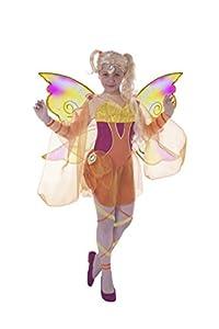 Ciao 11185- Disfraz de Stella Bloomix Winx Club 7-9 anni Stella (Arancione, Giallo)