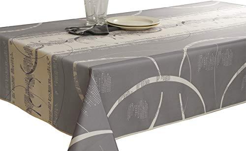 Nappe anti-taches Astrid ecru - taille : Rectangle 150x200 cm